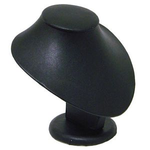 Small Bust Leatherette Display