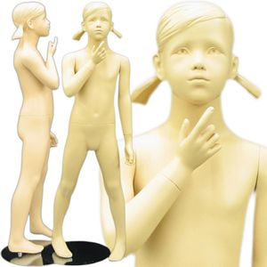 Young Standing Teenage Girl Mannequin 3' 11''