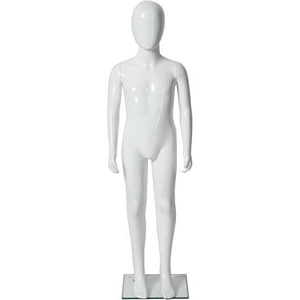 Glossy Abstract Unisex Child Full Size Mannequin 4' 3.25''