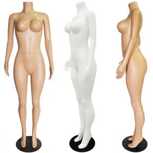 Plastic Headless Ladies Full Size Mannequin
