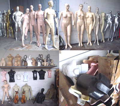 Damaged/Used Mannequins and Forms