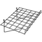 Straight Wire Gridwall Shelf with Front Lip