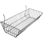 Large Double Sloping Gridwall/Slatwall Basket