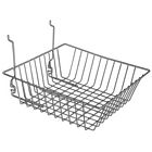 Small Double Sloping Gridwall/Slatwall Basket