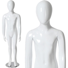 Glossy Abstract Egghead Children's Mannequin 4' 4''