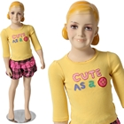 Girl\'s Mannequin with Molded Hair 3\' 8\'\'