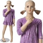 Girl\'s Mannequin with Molded Hair 3\' 11\'\'