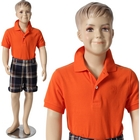 Boy\'s Mannequin with Molded Hair 4\' 1\'\'