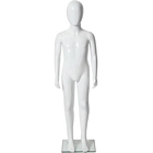 Abstract Plastic Egghead Children Mannequin 4\' 3\'\'