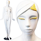 Ladies Full Size Standing Glossy White Mannequin - Petunia