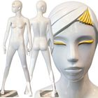 Ladies Full Size Standing Glossy White Mannequin - Anise