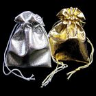Small Metallic Drawstring Gift Bag - 2.75'' H x 2.25'' W