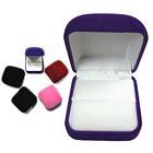 Square Velveteen Box - Ring Insert