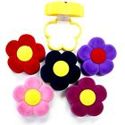 Daisy Flower Velvet Ring Box