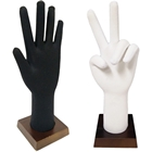 Bendable and Posable Foam Glove and Jewelry Display Hand