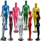 Colorful Glossy Abstract Female Mannequin