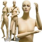 Full Size Stylish Female Mannequin with Flexible Arms