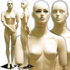 Female Mannequin with Flexible Arms and Interchangeable Heads
