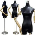 Ladies Dress Form with Flexible Arms and Fingers
