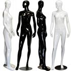 Abstract Female Mannequin in High Glossy Paint