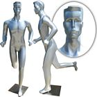 Full Size Abstract Male Mannequin in Running Position