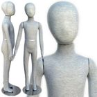 Pinnable & Flexible Kid Mannequin with Head 4'