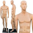 Abstract Head Plastic Male Full Size Mannequin