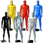 Colorful Glossy Abstract Male Mannequin