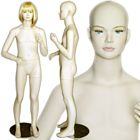 Unisex Pre-teen Standing Mannequin with Molded Hair