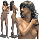 Tanned Female Mannequin in Stylish Pose