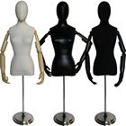 Ladies Egghead Dress Form with Bendable Arms
