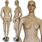 Tanned Fleshtone Economy Female Mannequin - FINAL SALE