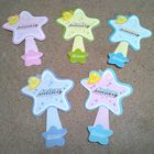 100 pcs Star Jewelry Hanging Tags