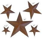 5 Piece Rustic 5 Point Star Wall Decoration Set